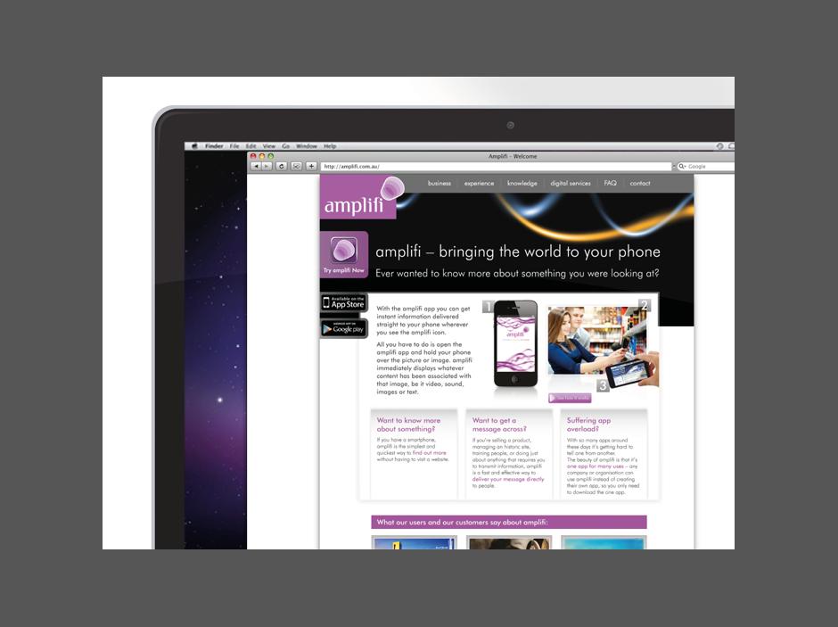 Amplifi website