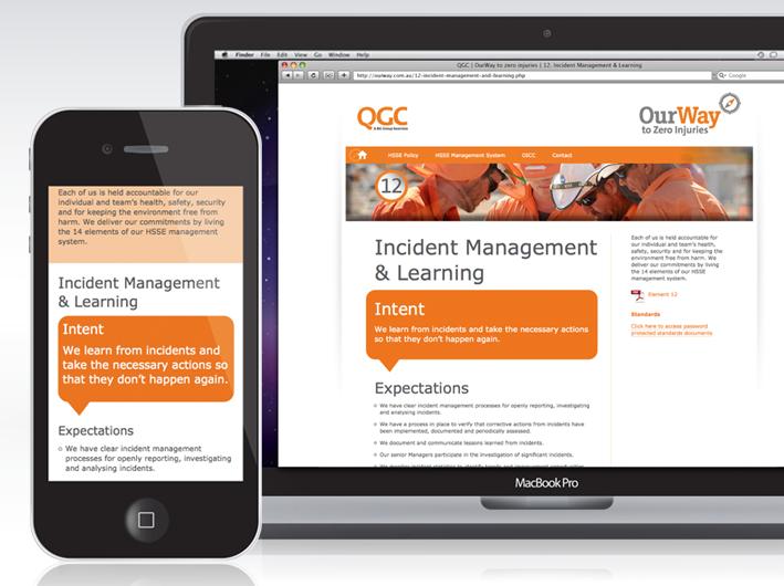 qgc responsive layout